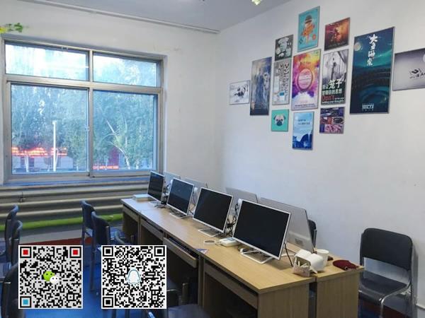 优学府平面设计学生上课机房